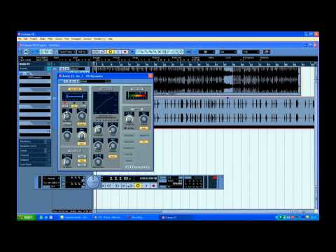 Cubase Sx3 Урок #1 - Ultimate - Records.eu