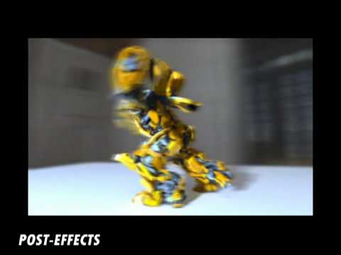 3D TRANSFORMERS in cinema 4d r11.5 demo